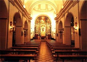 Retablo Mayor Nuestra Señora del Carmen