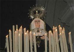 Virgen en Procesión