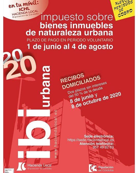 Cartel IBI Urbana 2020