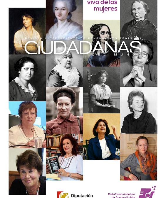 """Revista independiente de pensamiento feminista """"Ciudadanas del Mundo"""" nº 11"""